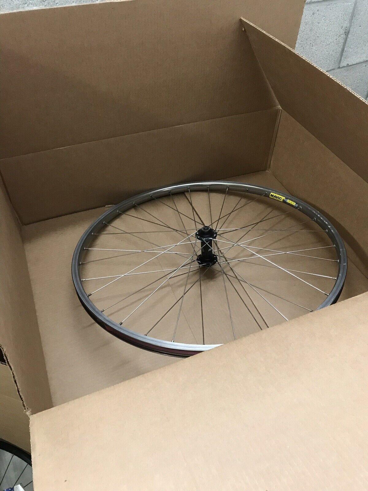 MAVIC rear  559x17 237s  Wheel  bicycle w  Shimano Deore x7 hb-m563 parallax hub