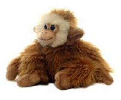 Hansa Monkey Sitting 2840 Realistic Plush Stuffed Animal New