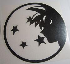 Dragon Ball Z DBZ face Super Saiyan Goku Anime Vinyl Die Cut Decal Sticker