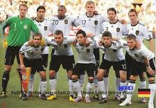 Fußball Weltmeisterschaft 2010 + DEUTSCHLAND 3.Platz + Das Team + BigCard #449 +
