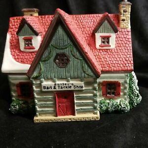 Lemax Village Collection Vail Village Butler's Bait and Tackle Shop