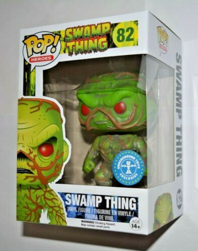 Heroes Swamp Thing Nr.82 Exclusive Vinyl Sammelfigur ca.10 cm Funko Pop