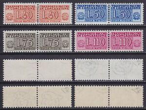Italia-1953-55-Pacchi-in-concessione-ruota-n-1-4-nuova-MNH-gomma-integra-Diena