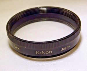 NIKON-AUX-1-6X-Macro-Close-up-micro-38mm-AUXILIARY-200mm-Medical-Nikkor-Lens