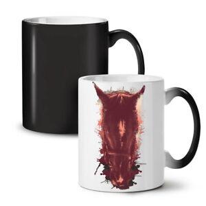 Horse Face Wild Animal NEW Colour Changing Tea Coffee Mug 11 oz | Wellcoda
