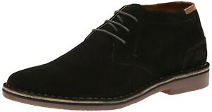 Kenneth-Cole-Mens-Black-Leather-Size-11-New-Ankle-Boots