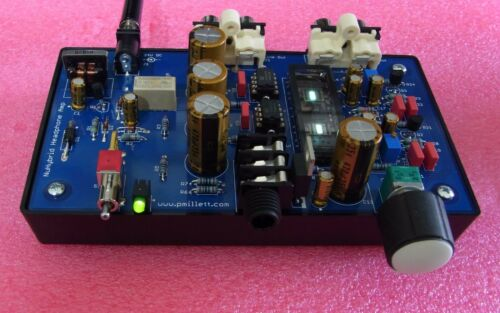 DIY PCB plus Tube NuHybrid Headphone Amp using the Korg Nutube 6P1