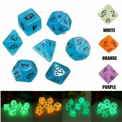 7pcs Multi-Sided Gem Dice Die for TRPG MTG Dungeons & Dragons DND D&D Games    eBay