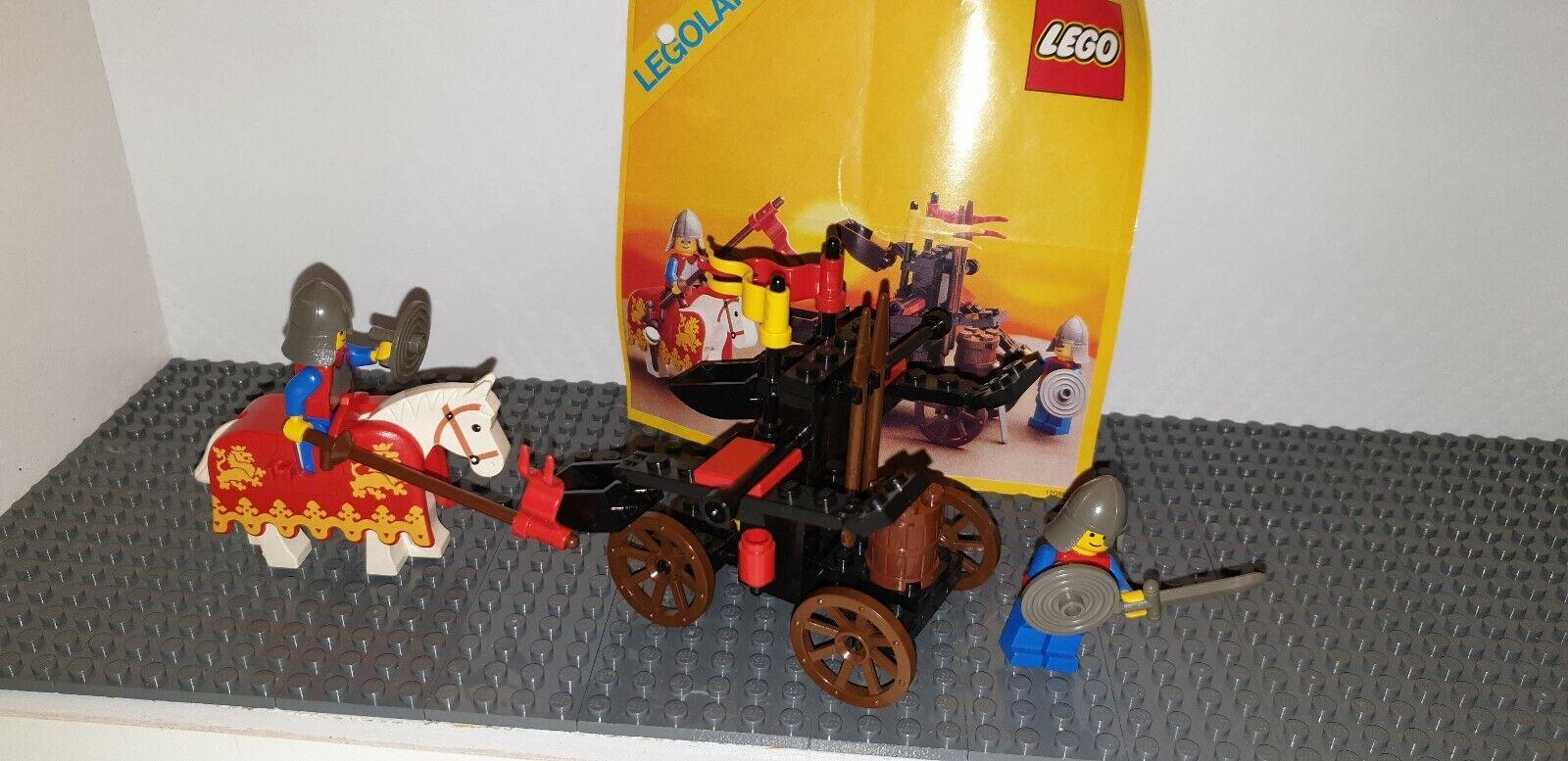 Lego Lego Lego Catsle Set 6039 Zwillingskatapult der Löwenritter 5ca4bd