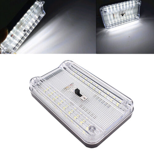 Car Vehicle Interior Dome Roof Ceiling Reading Trunk Light Lamp 36 LED DC 12V WX