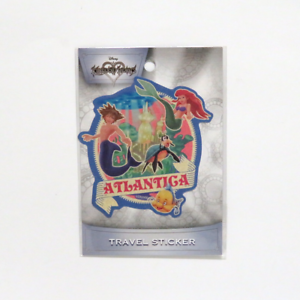 Kingdom Hearts Atlantica Ariel Sora Goofy Travel Sticker ENSKY JAPANESE IMPORT