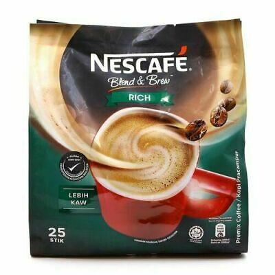 Nescafe Blend & Brew (Rich) 3in1 Instant Coffee 25 Sachets ...