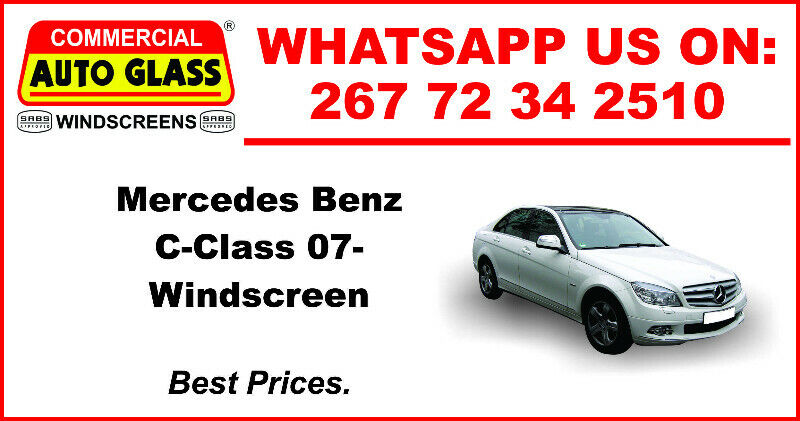 windscreen For Mercedes Benz C-Class 07 For Sale.