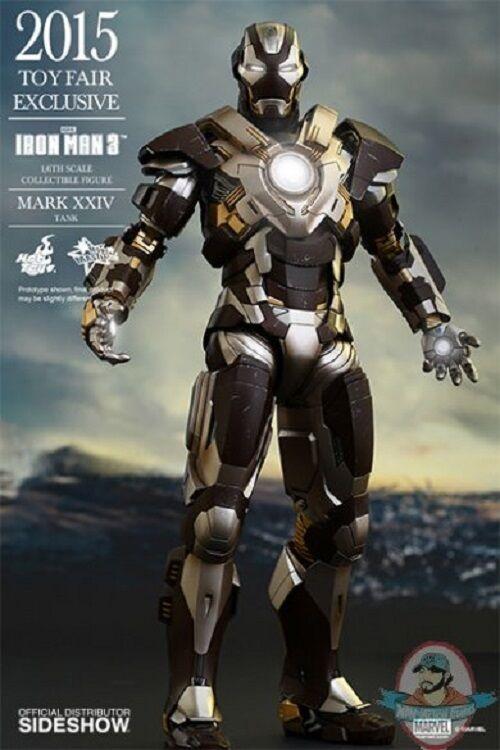 Iron Man Mark XXIV Tank Iron Man Sixth Scale Figure by Hot Toys
