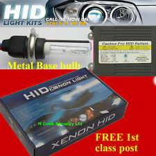 CANBUS PRO XENON HID CONVERSION KIT H7 / 6000K METAL BASE BULBS and AC ballasts
