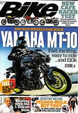 BIKE MAGAZINE July 2016 JAMAHA MT-10 New Cafe Racer Test TRIUMPH TRUXTON R @New