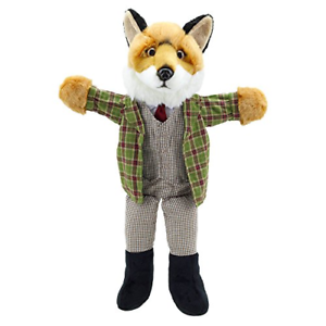 Dressed Animals Fox Puppet The Puppet Company