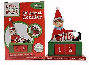 image is loading wooden elf advent counter christmas countdown festive xmas