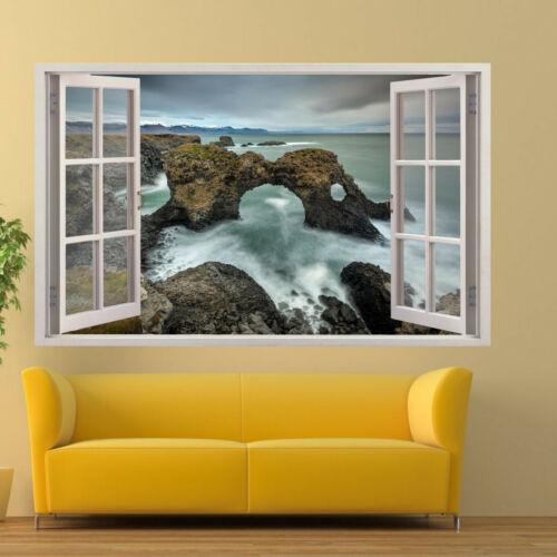 Ireland Sea Coast Cliff Wall Sticker Transfer Art Mural Decal Poster Decor RQ7