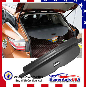 fit 1516 2017 nissan murano trunk black oe style retractable cargo cover shield ebay. Black Bedroom Furniture Sets. Home Design Ideas
