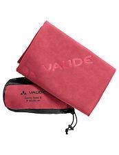 Vaude ASCIUGAMANO SPORT TOWEL S/Rosso, outdoor, viaggi, escursioni 40 x 80 cm