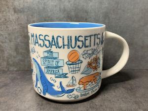 Starbucks Been There Series Massachusetts Cup Mug