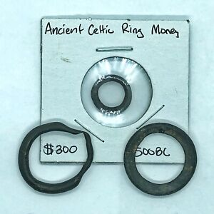 3-Pcs-Ancient-Celtic-Ring-Money-Authentic-500-BC-Artifacts-Coins-Europe-Old