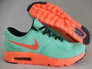 finest selection 4db41 215b5 Image is loading MENS-NIKE-AIR-MAX-ZERO-ID-MINT-GREEN-