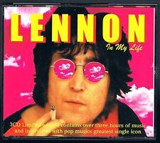 JOHN LENNON IN MY LIFE BOX 3 CD F.C. COME NUOVO!!!