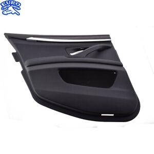DOOR-PANEL-REAR-LEFT-Black-Interior-BMW-F10-528i-535i-550i-M5-11-12-13-14-15-16