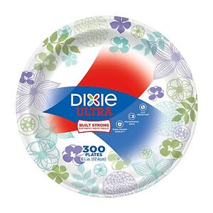 Details about Dixie Ultra Paper Plate 6-7/8