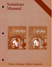 calculus graphical numerical algebraic ap solutions manual rh ebay com AP Calculus 3rd Edition Answers calculus graphical numerical algebraic third edition solutions manual