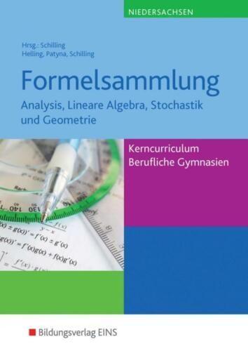 Formelsammlung Mathe NDS Taschenbuch