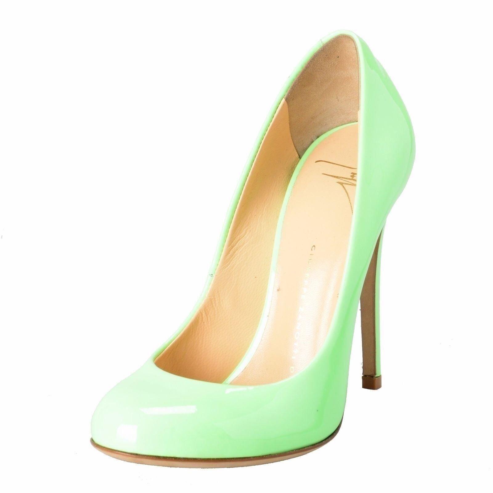 Giuseppe Zanotti Design Mujer verde Menta Bombas Zapatos Zapatos Zapatos de tacones altos EE. UU. 4.5 it 35.5  alta calidad general