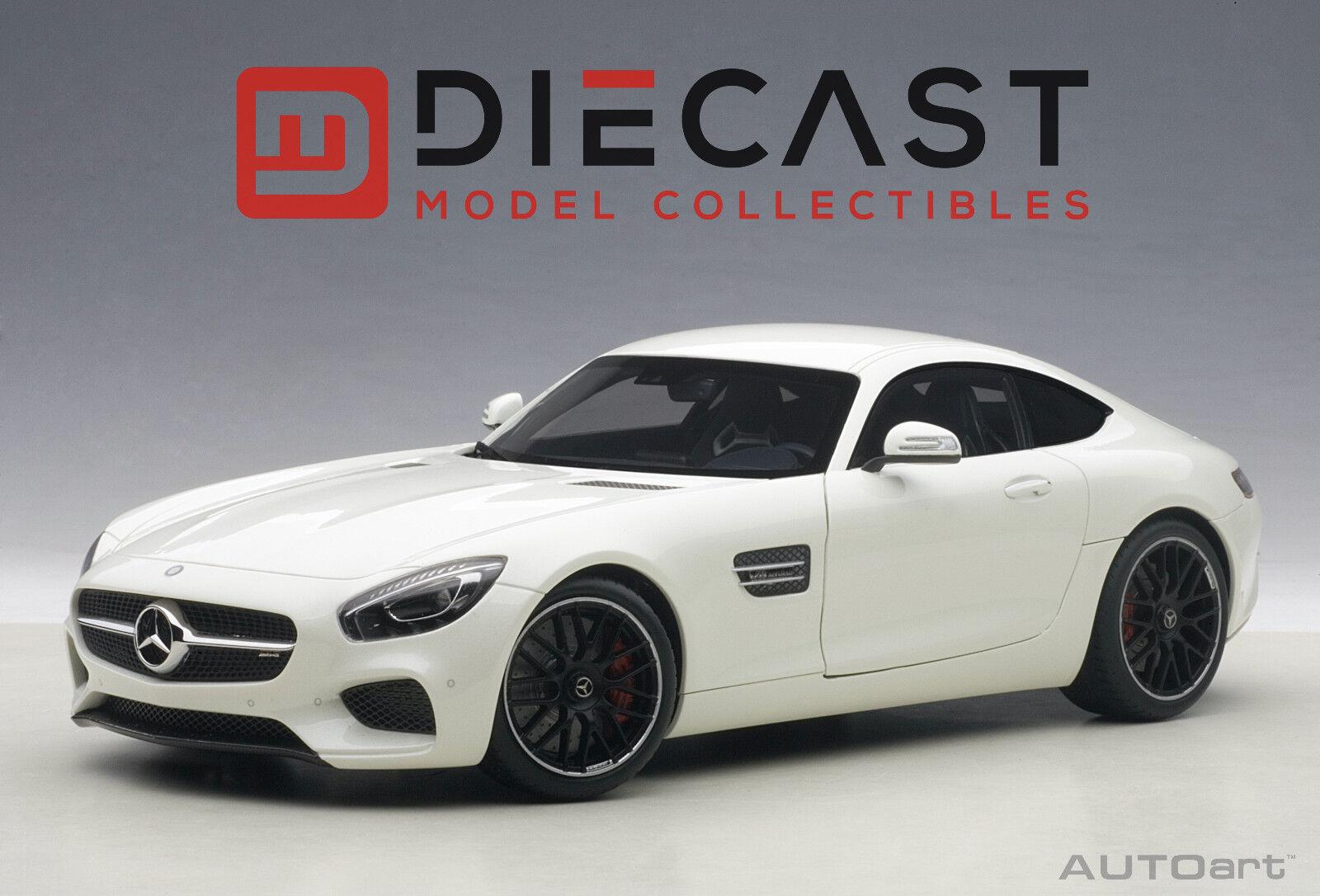 contatore genuino AUTOart 76311 Mercedes-AMG GT S (Designo (Designo (Designo Diamond bianca Bright) 1 18TH Scale  nuovo sadico
