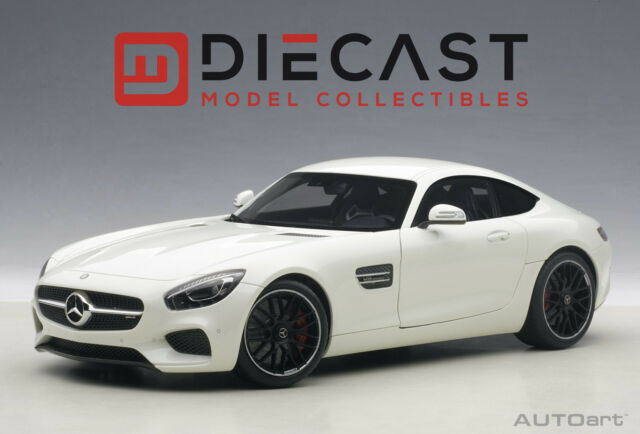 Autoart 76311 Mercedes Amg Gt S Designo Diamond White Bright 1 18th