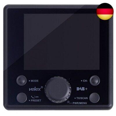 KFZ Kabellos Radio Adapter Freisprecheinrichtung mit USB 5V DC-Netzteil 1,44-Zoll-Display und 3,5mm AUX-Kabel Nulaxy Bluetooth FM Transmitter mit Einschalten//Ausschalten Taste