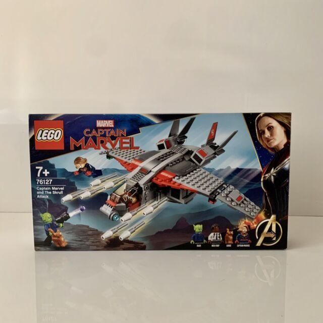 Lego Marvel Super Heroes Captain Marvel et le SKRULL Attack (76127) - NEUF