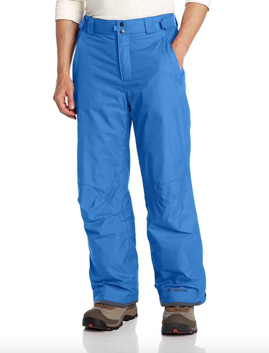 Columbia Mens Big 4X Bugaboo II Pant Insulated Winter Hyper Blau