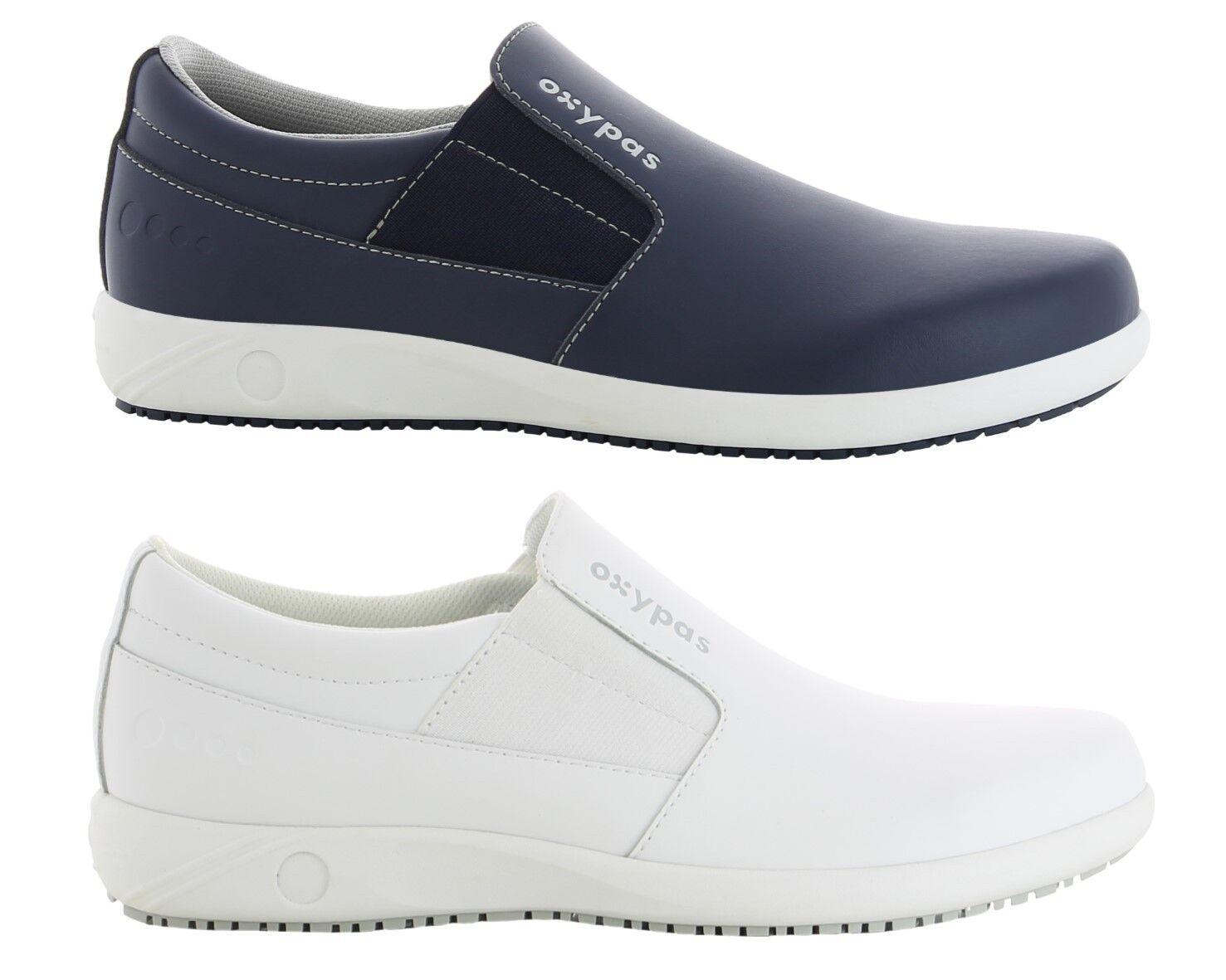 Oxypas Oxysport Roy Leather Slip-on Nursing shoes