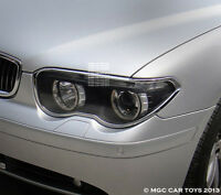 Bmw 7 Series E65-e68 2002-2005 Top Quality Headlight Chrome Trim Upgrade