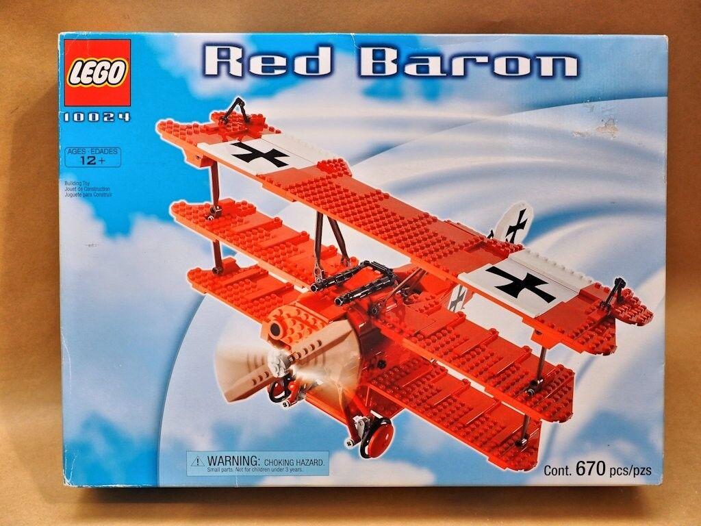 LEGO 10024 Red Baron NEW & SEALED