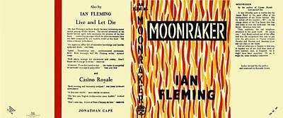 umschlag Für 1 Zielsetzung Fleming-facsimile Dust Uk Ausgabe Moonraker Vertrieb Von QualitäTssicherung