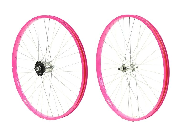 Beach Cruiser bike 26 x 25mm Wheels Wheelset Rims Pink