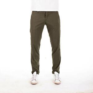 nuovi stili 675ec 8cbab Dettagli su Pants Pantaloni ROY ROGERS SLIM FIT VERDE ROLF SUPERIOR Chino  Pantaloni color kaki W38 SUPER- mostra il titolo originale