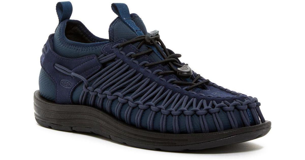 KEEN Uneek  HT Corded Sandal Men's scarpe blu Navy  garantito
