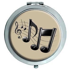 Musik Notizen Kompakter Spiegel
