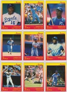 Verzamelkaarten: sport Wade Boggs 1991 Star Company Boston Red Sox 9-card Nova Series BB Set #/500