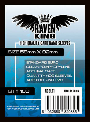 Aggressivo Raven King Bustine Protettive 59x92mm Raven Distribution