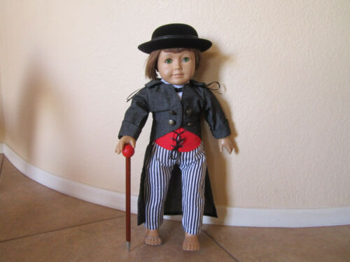 6-pc WILD WEST WESTERN OUTFIT includes Derby Hat American Girl Very Detailed!!